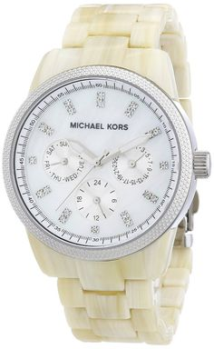 e384c3f284f Crystal watches for women Michael Kors