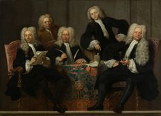 1732 Jan Maurits Quinkhard - The Regents of the Old Male and Female Hospital Minimal Theme, Baroque Art, Edwardian Era, Romans, 18th Century, Photo Art, Old Things, Female, History