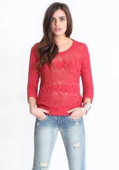 Sudden Surprise Crochet Sweater