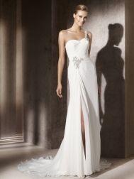 Wedding dresses & veils on Pinterest  Wedding Dress Styles, Chiffon ...