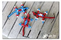"Looking for an awesome craft to do with kiddos?? I've got ya covered! I know, you're thinking ""Isn't it the middle of the Red White Blue Series?!? what about that?"" – – you're right, and here's to you, the ever-observant blog reader: Patriotic Lizards This project is part of the Michael's Summer Adventure program, which...Read More »"