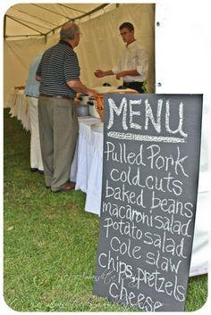50th anniversary picnic ideas