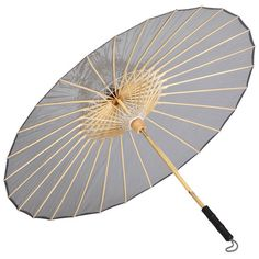 Brelli Grey Umbrella (110 CAD) ❤ liked on Polyvore featuring accessories, umbrellas, brelli, see through umbrella, brelli umbrella and transparent umbrella