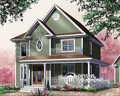 Plan de maison no. W2755 de DessinsDrummond.com