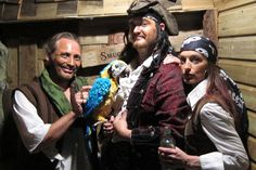 Join the crew for some stories of Prussia Cove and infamous Cornish Pirates at Pirate's Quest, Newquay, Cornwall.