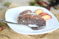 Schneller Low-Carb Mohnkuchen mit 5 Zutaten Fast low carb poppy seed cake with 5 ingredients Tea Time Snacks, Afternoon Snacks, Afternoon Tea, Soup Recipes, Dessert Recipes, Dessert Food, Diet Desserts, Dinner Recipes, Fast Low Carb