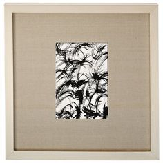 """Silver Leaf Frame with Linen Mat – 5"""" x 7"""""""