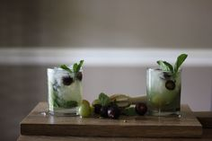 Muscadine Mojitos 2 of Cocktails, Drinks, Mojito, Soul Food, Southern, Cheers, Lounge, Recipes, Craft Cocktails