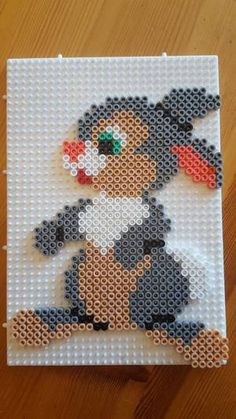 Perler Bead Designs, 3d Perler Bead, Hama Beads Design, Hama Beads Patterns, Peyote Patterns, Beading Patterns, Hama Disney, Hama Beads Disney, Disney Hama Beads Pattern