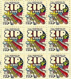 ZIP Code stamps, 1974