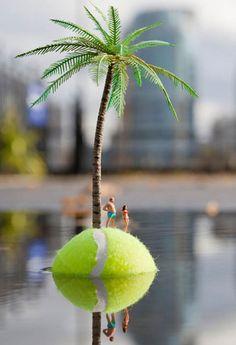 slinkachu miniature street art