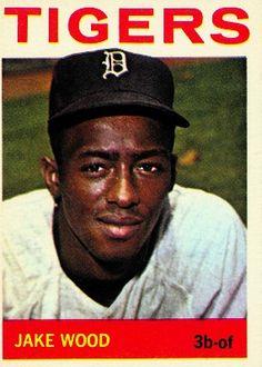 Jake Wood 1964 Third Base - Detroit Tigers  Card Number: 272