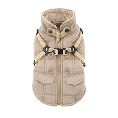 Puppia Wilkes Winter Fleece Vest Small Beige ** Read more  at the image link. (This is an Amazon affiliate link and I receive a commission for the sales and I receive a commission for the sales)