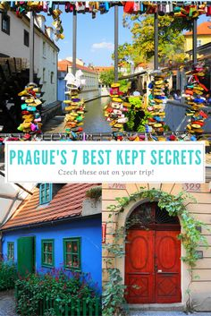 Have you already seen the major sights in Prague? Check out the top 7 best kept secrets of Prague. Off the beaten path Prague, Czech Republic sites will keep you busy! Europe Destinations, Europe Travel Tips, Places To Travel, Best Hostels In Europe, Prague Travel Guide, Holiday Destinations, Italy Travel, Backpacking Europe, European Vacation