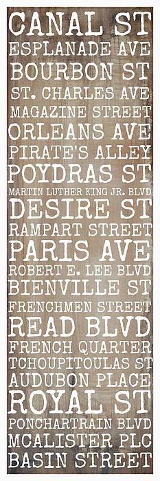 New Orleans Streets Digital Art by Susan Bordelon - New Orleans Streets Fine Art Prints and Posters for Sale