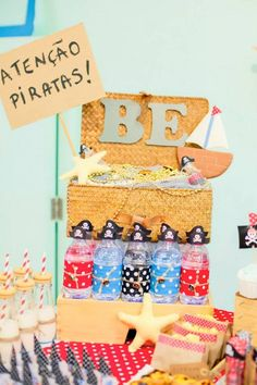 Pirate themed birthday party by Pirlimpimpim Festas Felizes