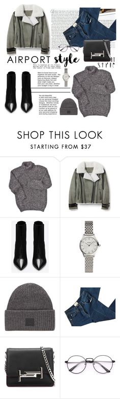 """""""Airport style!!"""" by marinahayr on Polyvore featuring Stop Staring!, Yves Saint Laurent, Hermès, Acne Studios, 3.1 Phillip Lim, Tod's and airportstyle"""