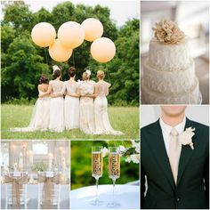 Caramel & Champagne Wedding