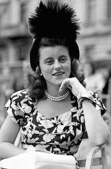 Just five months after fun-loving and charming Kick married the love of her life, aristocrat William Cavendish, he died on the battlefields of World War II (9 September 1944). The tragedy happened just a month after Kick's oldest brother Joe Kennedy Jr died when his plane exploded during a top secret bombing mission in Europe.