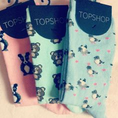 :] cute fun socks from topshop