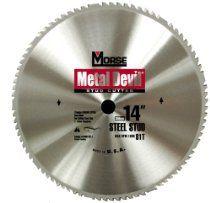 "MK Morse CSM1481STC Metal Devil 14"" Stud Cutter Circular Saw Blade"