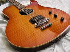 2007 Hamer 12 String Bass... like the bridge and tailpiece