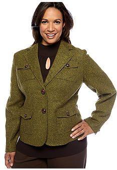 Jones New York Signature Plus Size Military Jacket Plus Size Military Jacket, Blazer, York, Casual, Jackets, Clothes, Shopping, Women, Fashion