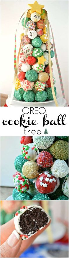 This Oreo Cookie Ball Tree is almost too pretty to eat! Almost. Learn how to make this delicious centerpiece for all your holiday celebrating. I made this! It was really easy! So I had to share it because … well mostly because I was feeling extraordinarily proud of myself. But the rest of my reasoningRead More »