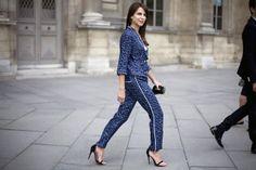 """Blog Le Style NAF NAF. Artículo """"Pajama Dressing"""". http://blog.nafnaf.com.co/archive"""