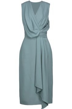Jason Wu draped crepe dress very pretty. Day Dresses, Evening Dresses, Summer Dresses, Elegant Dresses, Beautiful Dresses, Draped Dress, Jason Wu, Classy Dress, Dress Patterns