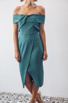Seaside Dress - Teal