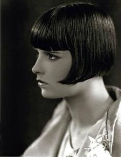 The ever lovely Louise Brooks. c. 1920s