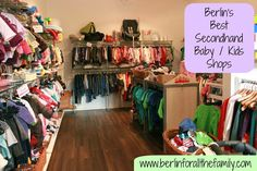 A list of Berlin's best secondhand baby and children's shops #berlin #family #baby