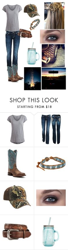 """Good weekend!"" by countryprincess-99 ❤ liked on Polyvore featuring Pieces, Miss Me, Dan Post, Chan Luu, CO and ALADDIN"