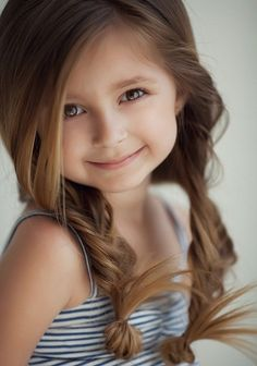 Hair Styles Ideas : Illustration Description 25 Cute Hairstyle Ideas for Little Girls. For when Maddie will let me do her hair. -Read More – Simple Wedding Hairstyles, Creative Hairstyles, Cute Hairstyles, Braid Hairstyles, Female Hairstyles, Hairstyles 2016, Asian Hairstyles, Ladies Hairstyles, Medium Hairstyles