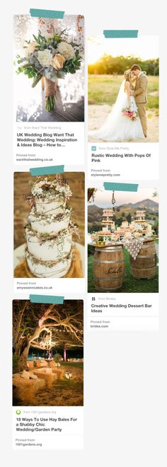 Country rusting wedding style inspiration