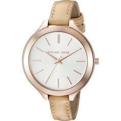 Michael Kors Womens Large Gold-Tone Watch (MK2284)