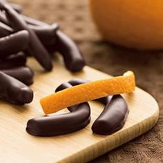 Chocolate Covered Orange Peel