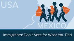 YouTube: PragerU  Many of America's legal and illegal immigrants fled nations that were ruined by corrupt politicians and failed government policies. But once here, they support the same things. Why? Gloria Alvarez, Project Director at the National Civic Movement of Guatemala, explains.