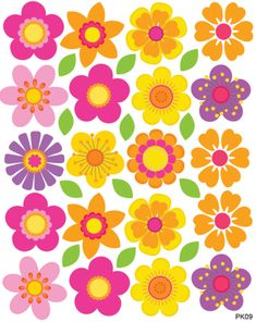 Model Flowers - Buy at Little Dreamer Deco Diy And Crafts, Arts And Crafts, Paper Crafts, Felt Flowers, Paper Flowers, Vintage Clipart, Cartoon Flowers, Hippie Flowers, Flower Clipart