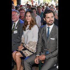 Sortie en duo pour Sofia Hellqvist et prince Carl Philip