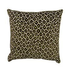I pinned this Cheetah Pillow in Chocolate & Lime from the Signature Pillows event at Joss and Main!