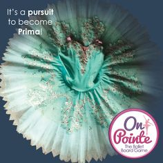 It's a pursuit to become Prima - On Pointe, the ballet board game.  Dance your way to the top and collect treasures to score points along the way.  Discover this beautiful new board game at onpointegame.com  #tutu #tutuskirt #balletlife #prima #onpointe #boardgames Games For Girls, Tutu, Board Games, Ballet, Dance, Gifts, Beautiful, Dancing, Presents