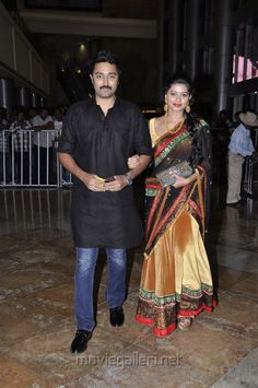 Sneha and Prasanna at Santosham Awards 2012