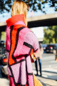 Street Style en Paris Fashion Week, octubre 2015 © Icíar J. Carrasco