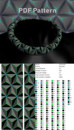 bead crochet patterns Beading patterns and tutorials Crochet Necklace Pattern, Crochet Beaded Bracelets, Beaded Necklace Patterns, Bead Crochet Patterns, Bead Crochet Rope, Beading Patterns, Beaded Crochet, Knitting Patterns, Seed Bead Tutorials