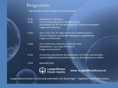 IPF Patiententag zur IPF world week in Krems Computer, Weather, World, Projects, The World, Weather Crafts