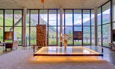 Manhattan Style Loft Set in a Wooden Chalet, Switzerland | Interior Design Files
