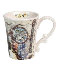Another great find on #zulily! 'Fly' Mug by Sally Jean #zulilyfinds