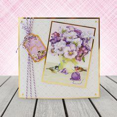 Garden Treasures - Hunkydory   Hunkydory Crafts 100th Birthday Card, Male Birthday, Birthday Card Design, Birthday Cards For Men, Tonic Cards, Hunkydory Crafts, Hunky Dory, Men's Cards, Christmas Cards To Make